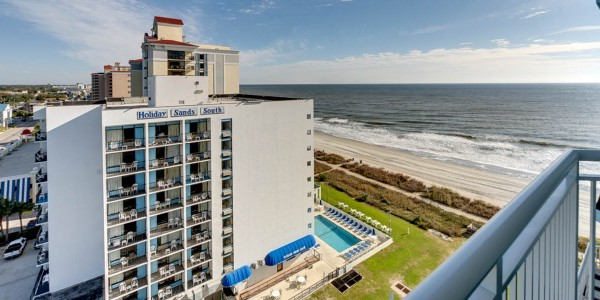 End 12 Story Luxury Complex Is Made Up Of 1 And 2 Bedroom Ocean Front View Condos Located On The South Myrtle Beach Holiday Sands At